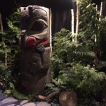 Greenscape Design - Forbes hotel lobby event decor westcoast totems evergreens