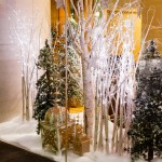 Greenscape Design - holiday decor shangri la winter wonderland gilded event decor hotel