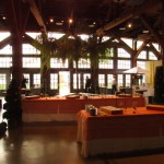 Greenscape Design - Roundhouse FWE event decor room setup garden party