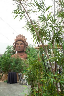 Greenscape Design Tropical Rainforest Bamboo Buddah