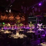 Greenscape Design - VSO Centre pieces palm fronds event decor