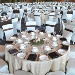 Greenscape Design - West Coast Event Decor Evergreens birch moss