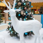 Greenscape Design - holiday sanda set woodland animal props xmas tree