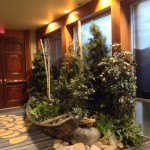 Greenscape Design - forbes four seasons hotel decor west coast vignette ever green canoe props