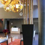 Greenscape Design natural bamboo poles Coast Chilliwack lobby