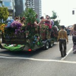 Vancouver Pride Greenscape Design Float Parade