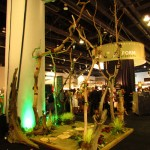 Greenscape Design IDSwest 2011 booth design Westcoast Modern