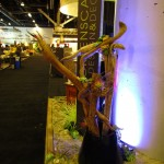 Greenscape Design IDSwest booth Driftwood Arrangement