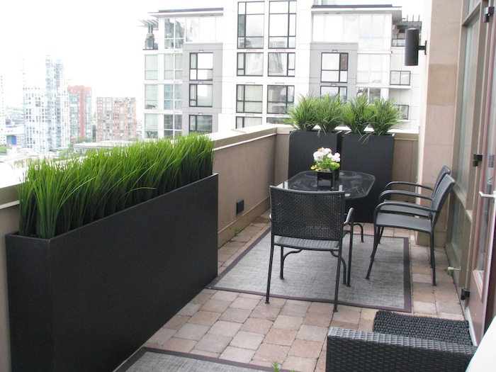 Get your patio set for summer greenscape for Outdoor furniture for small balcony