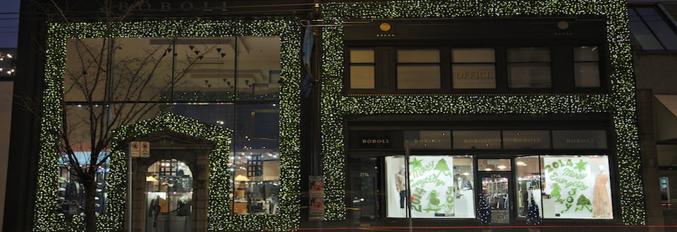 Greenscape Design Illuminated Boxwood Holiday Decor Vancouver copy
