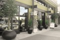 Greenscape Design Joeys Restaurant Agave Planters