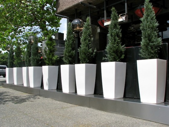 Fence Planters Ideas Privacy Screens