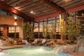 Greenscape Design River Rock Casino Westcoast Pool Area Aspen Trees