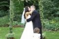 Greenscape Design Wedding Decor Exterior Cedar Archway with Ivy