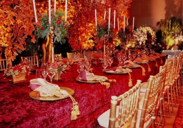 Fall Table Decor For Weddings Photograph | Greenscape-Design