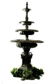 Bronze 3 tier Fountain