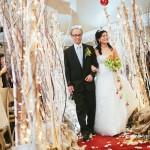Greenscape Design Birch Wedding Walkway