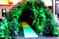 Greenscape Design Faux Living Wall Archway Event Decor
