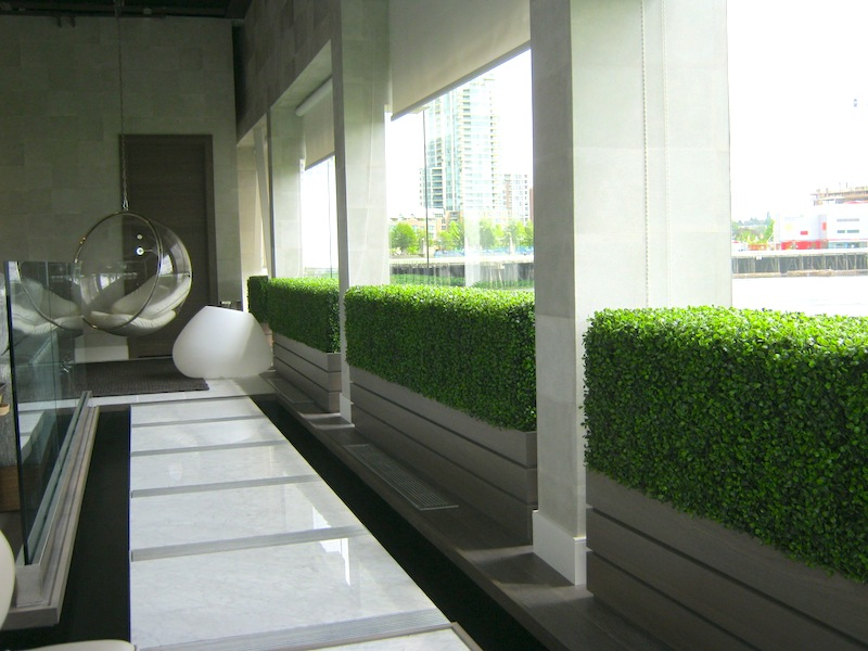 Greenscape Design Home Decor Faux Boxwood Wall