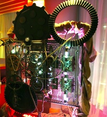 Greenscape Design Steampunk Event Decor
