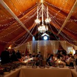 Greenscape Design Wedding Ceiling Treatment and Backdrop