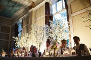 Greenscape Design White Cherry Blossom Wedding Decor Karly and Chris - Shari and Mike Photographers