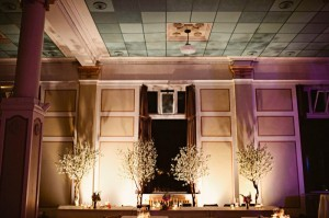 Greenscape Design White Cherry Blossom Wedding Heritage Hall - Shari and Mike Photographers