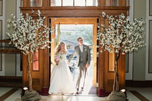Greenscape Design White Cherry Blossom Wedding Karly and Chris - Shari and Mike Photographers