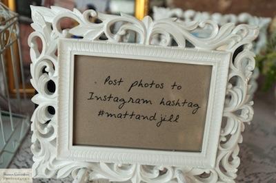 Hashtags for Weddings