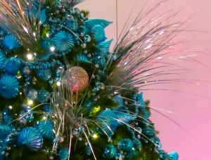 Greenscape Design Teal Holiday Decor