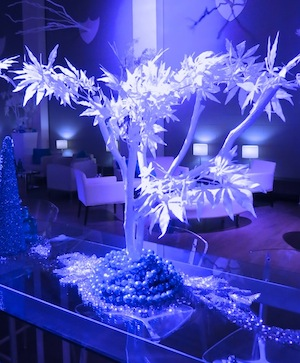 Greenscape Design Winter Wonderland Table Centrepieces