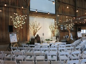 Greenscape Design Magnolia Tree Rustic Event Decor Rentals Harris Barn