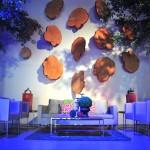 Greenscape Design West Coast Tree Cookie Backdrop Event Decor Rentals