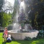 Greenscape Design Bronze Fountain Landscaping Ideas