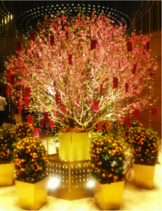 Chinese New Year Decor Ideas Cherry Blossom