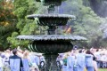 Greenscape Design Bronze Fountain Event Decor Rentals