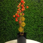 Greenscape Design Chinese New Year Chinese Lantern Floral Arrangement