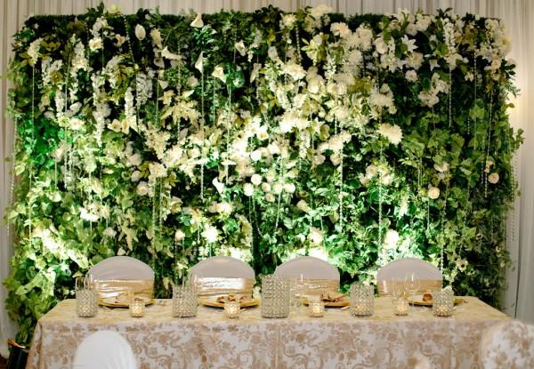 artificial floral wall backdrop greenscape
