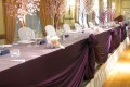 Greenscape Design Head Table Fabric Swags