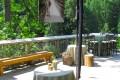 Greenscape Design Rustic Wooden Bench Rentals