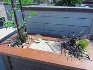 Greenscape Design Exterior Zen Garden Planter Vancouver