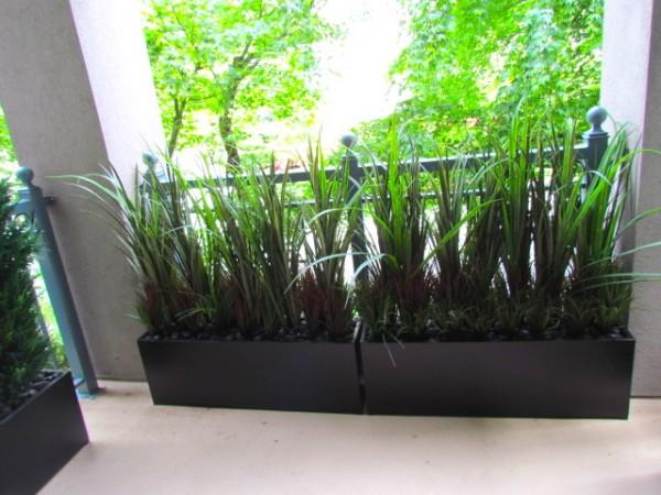Condo Balcony Privacy Screen Greenscape Design Amp Decor
