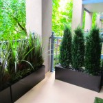 Greenscape Design Condo Balcony Privacy Screen Vancouver