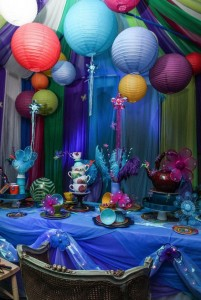 Greenscape Design - Assorted Lanterns tea party alice and wonderland themed