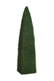 Greenscape Design Boxwood Cone Obelisk Topiary 8' Tall