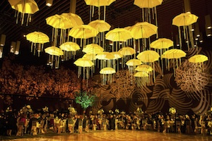 Greenscape Design - Event Ceiling Treatment Umbrella Decor Rental - Feature