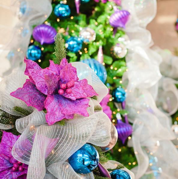 Greenscape Design Jewel Tone Holiday Decor copy