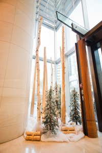 Greenscape Design Shangri-La Hotel West Coast Holiday Decor