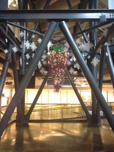 Greenscape Design Upside Down Christmas Tree Holiday Decor Rental