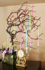 Greenscape Design - Wishing tree curly willow alice in wonderland themed